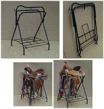 heavy duty folding saddle stand made in the USA